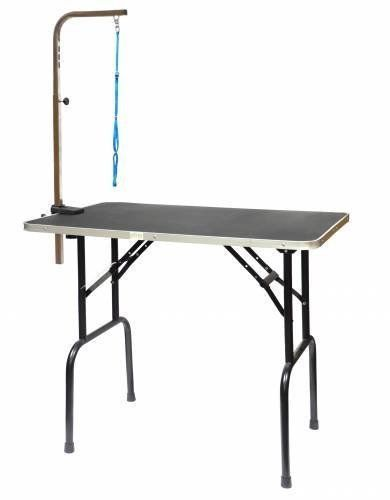 Dog Grooming Table With Arm 48 Inch Dog Grooming Dog Grooming Supplies Dog Supplies