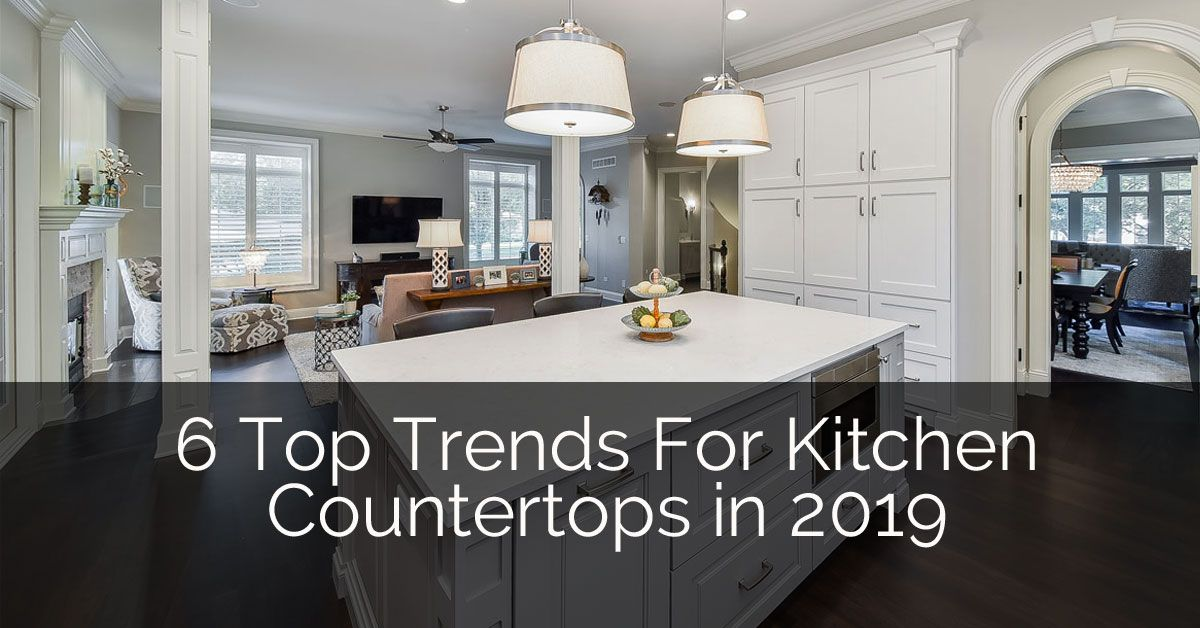8 Top Trends For Kitchen Countertop Design In 2020 Kitchen