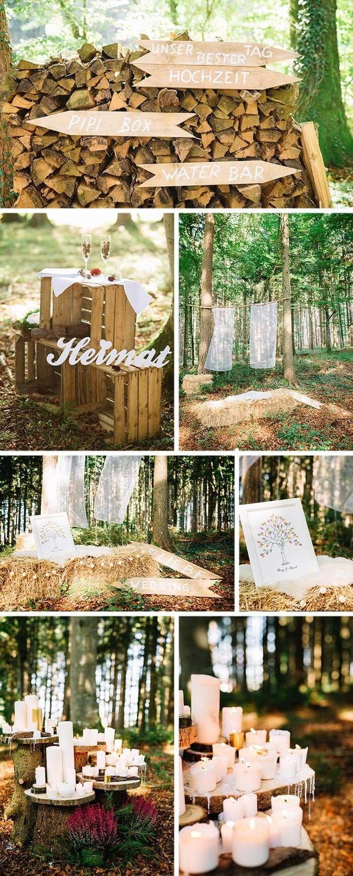 hochzeit im gr nen ideen f r eure rustikale naturhochzeit. Black Bedroom Furniture Sets. Home Design Ideas
