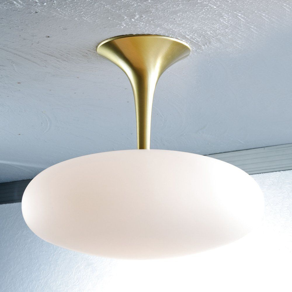 Holtkotter 5221 Large Halogen Semi Flush Ceiling Light - Lighting ...