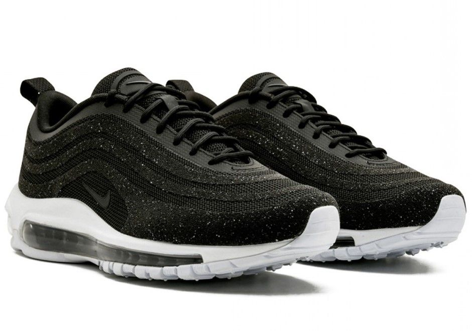 Nike Air Max 97 Swarovski Black | Nike air, Air max, Black