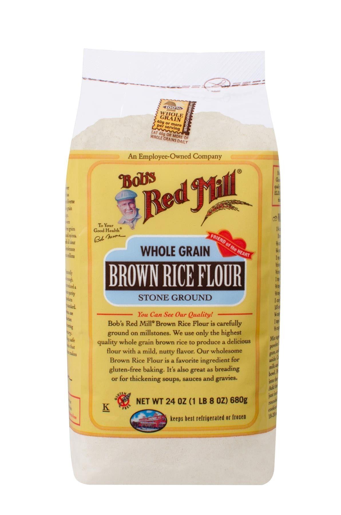 Brown Rice Flour Brown rice flour, Gluten free recipes