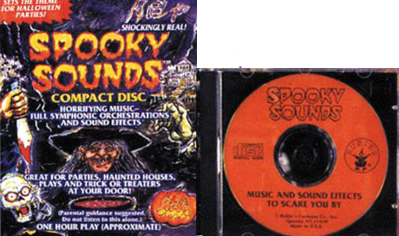 Rubie's Spooky Sounds! - Halloween1.Music To Scare You By (28:26)2 ...