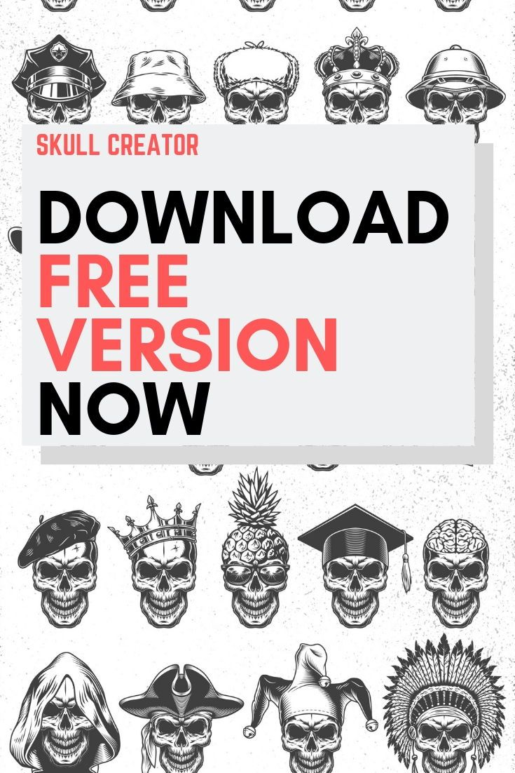 Skull creator How to make logo, Free logo creator, The