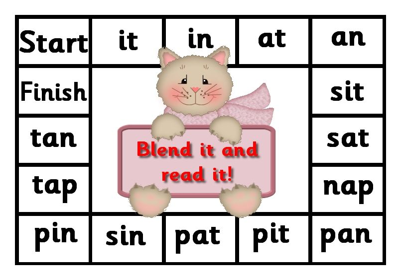 Debbie's Resource Cupboard satpin, blend it and read it
