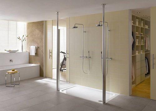 fotos de baos con ducha es muy cierto que las duchas se han convertido hoy en da una alternativa muy utilizada en la decoracin de baos modernos - Baos Con Ducha Y Baera