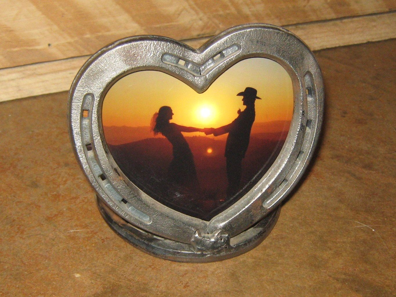 Horseshoe heart picture frame by customcowboy on etsy 2600 horseshoe heart picture frame by customcowboy on etsy 2600 jeuxipadfo Image collections