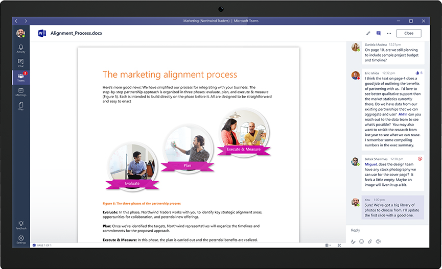 Introducing Microsoft Teams The Chat Based Workspace In Office 365 Office Blogs Office 365 Work Space Office