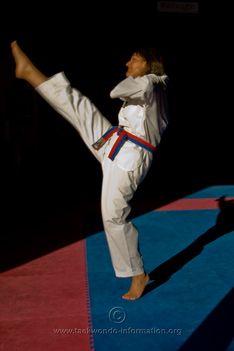 Taekwondo axe kick | Taekwondo | Taekwondo, Kicks, Axe
