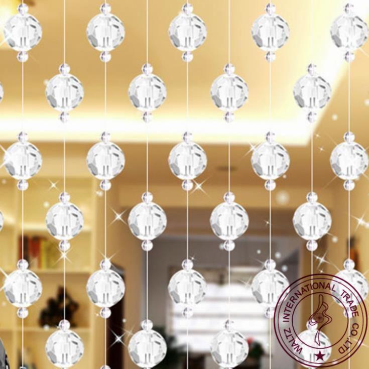 Pas cher cristal rideau pour fen tre restaurant de rideau - Rideau de porte design ...