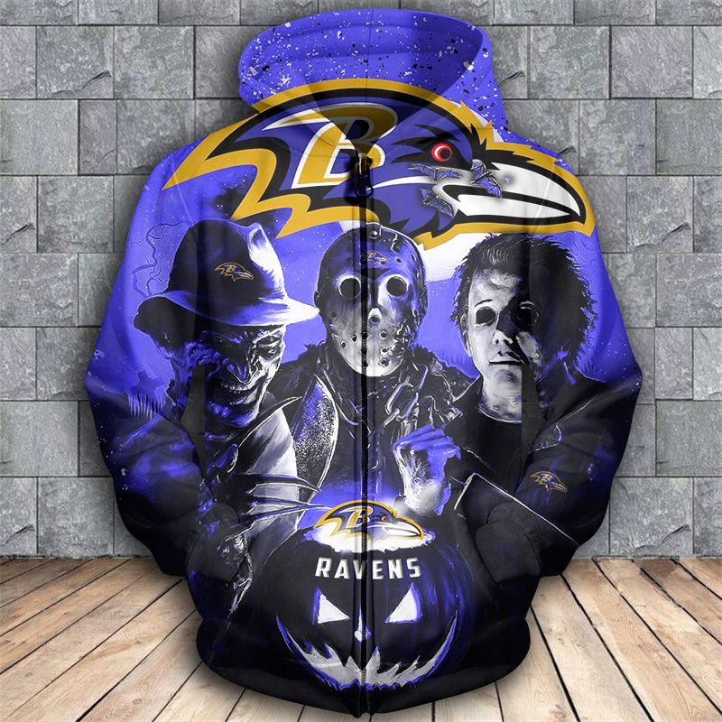 Baltimore Ravens All Over Print Baltimore Ravens 3D