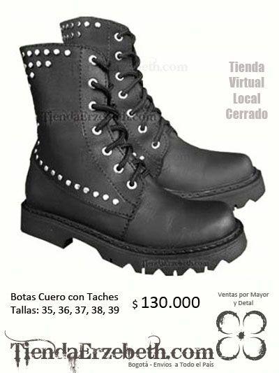e508e59c botas cuero taches rockera metalera zapatos calzado panama caracas quito  lima medellin cali mexico santiago miami new york usa