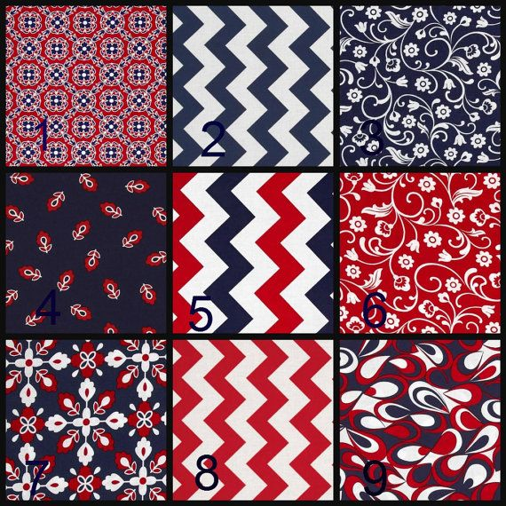 Baby Bibs,Burp Cloths, Baby Blanket, Boy baby Gift, Baby Shower Gift, Baby Girl Gift, Navy and Red Baby,