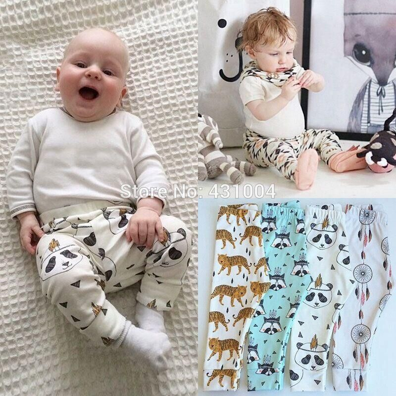 9c67e5270084 Baby Boys Cotton Harem Pants Boy Girl cute Leggings Trousers Toddler ...