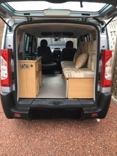 urban camper small campervan peugeot expert 58. Black Bedroom Furniture Sets. Home Design Ideas