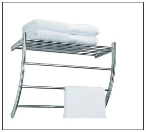 Wall Mounted Hotel Towel Rack Luxurious And Functional Hotel