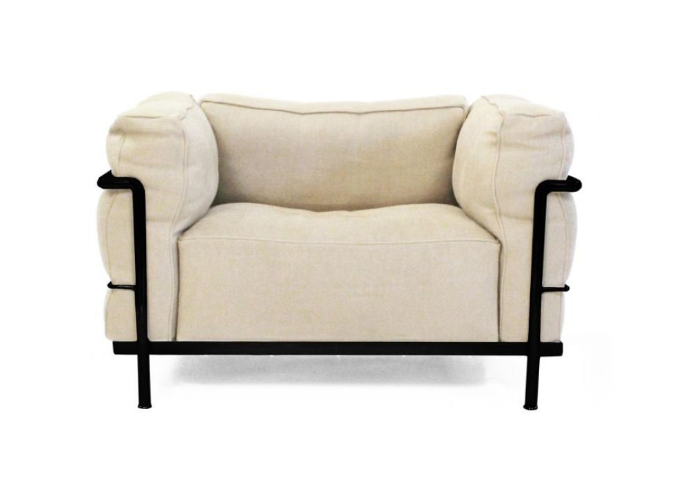 Perfect LC3 Down Filled Armchair | Design: Le Corbusier | Manufacturer: Cassina |  Item Is