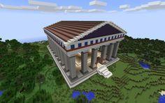 Minecraft Greek Temple Minecraft Temple Minecraft Challenges