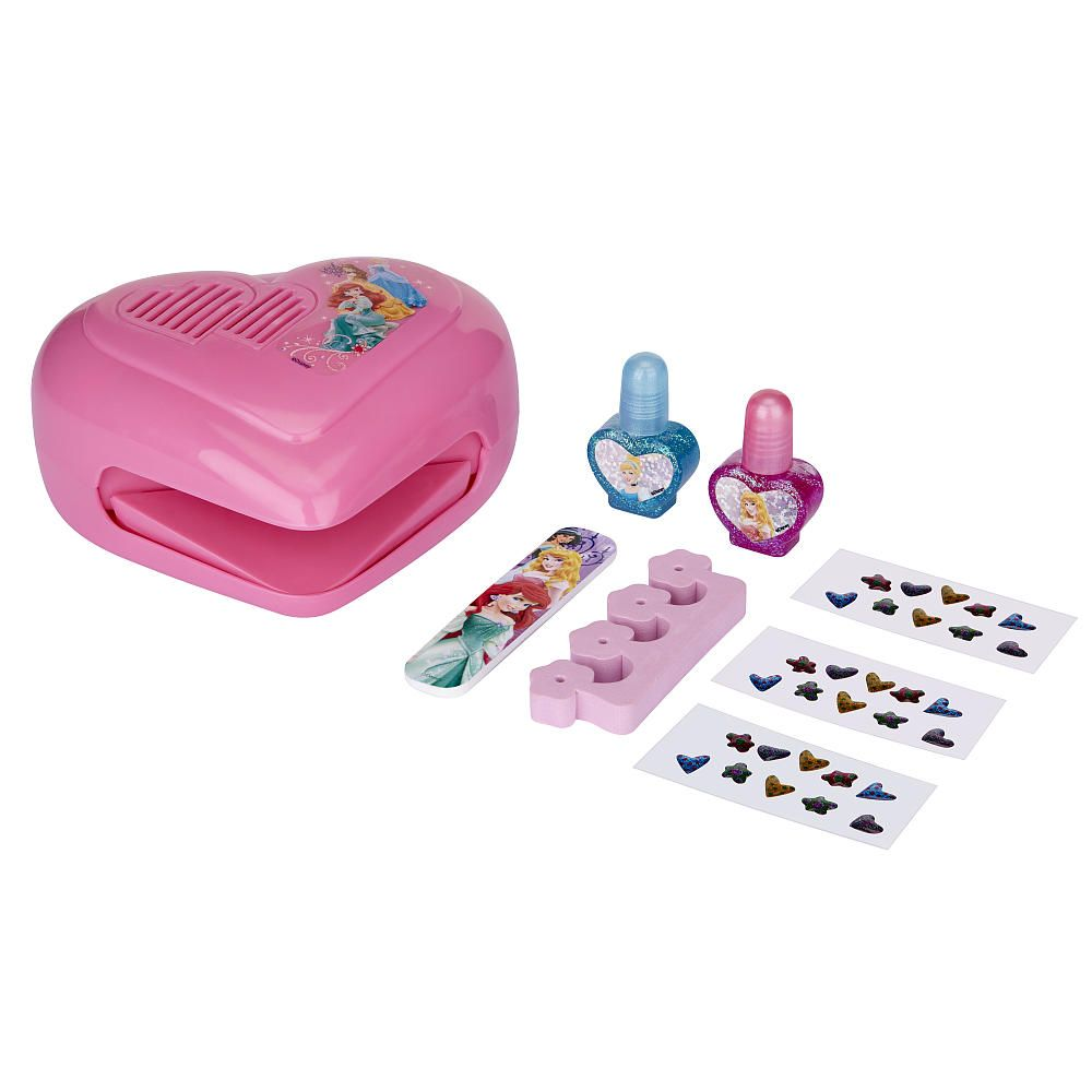 Now your nails can be Princess perfect with this complete nail salon ...