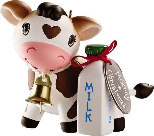 Carlton Heirloom Ornament 2012 Moo-ey Christmas - Mooey Christmas Cow -  CXOR038B - The Games Factory 2 Ornament