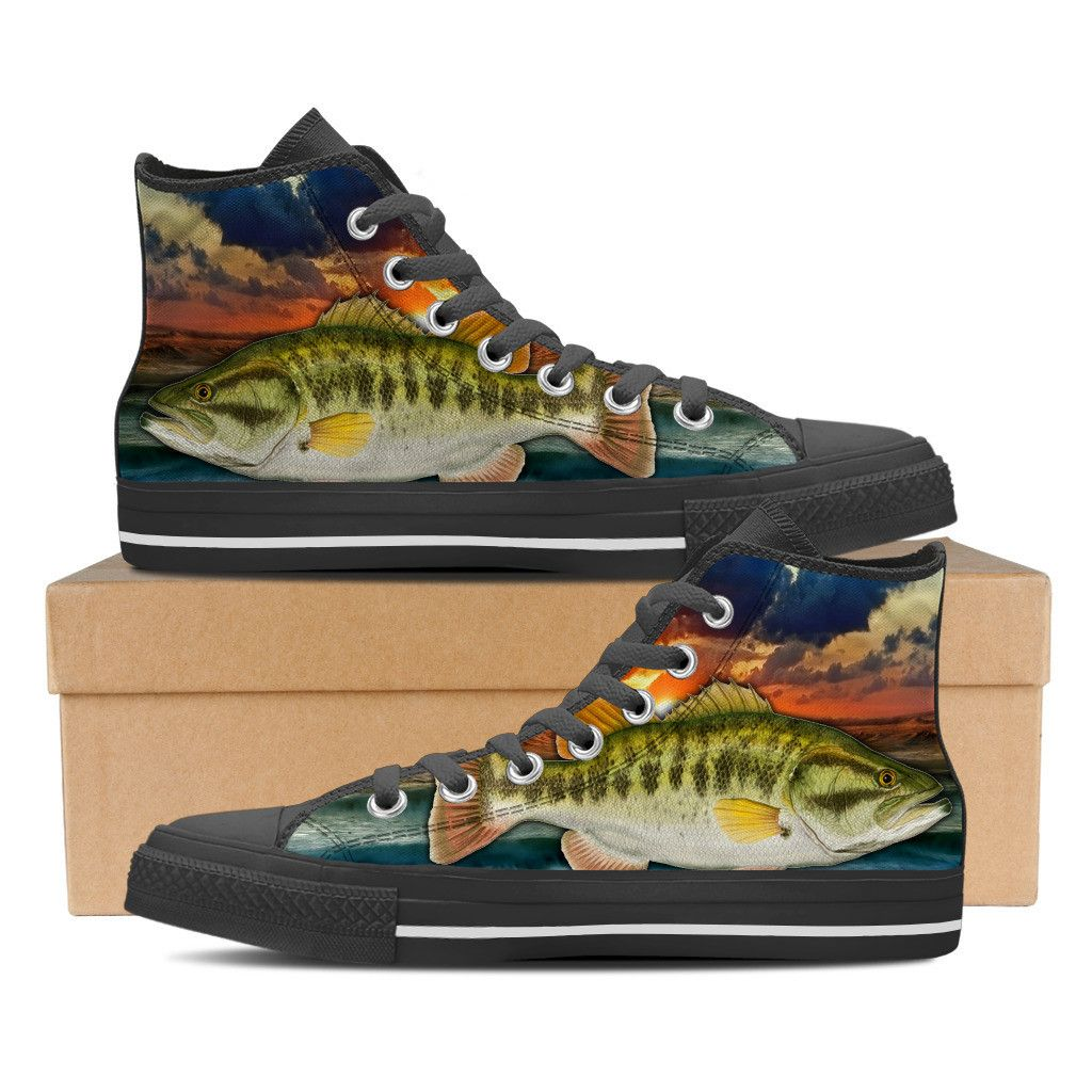 Bass dreams shoes fishing for Bass fish slippers
