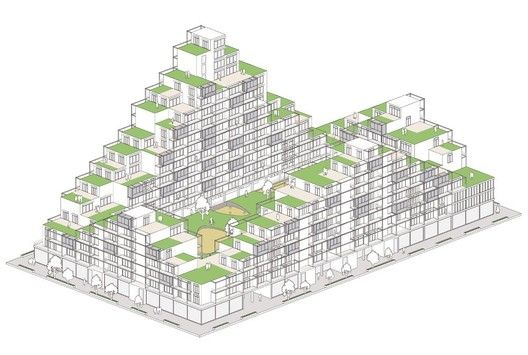 Gallery of A101 Block City Competition Entry: Social Machine / LED Architecture Studio  - 5