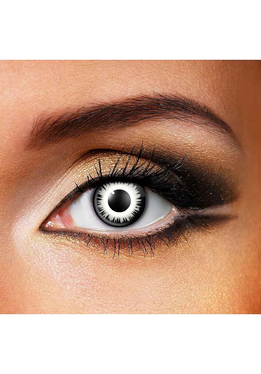 Lunar Eclipse Eye Accessory Daily Halloween Contact Lenses Vampire Eyes Contact Lenses Colored