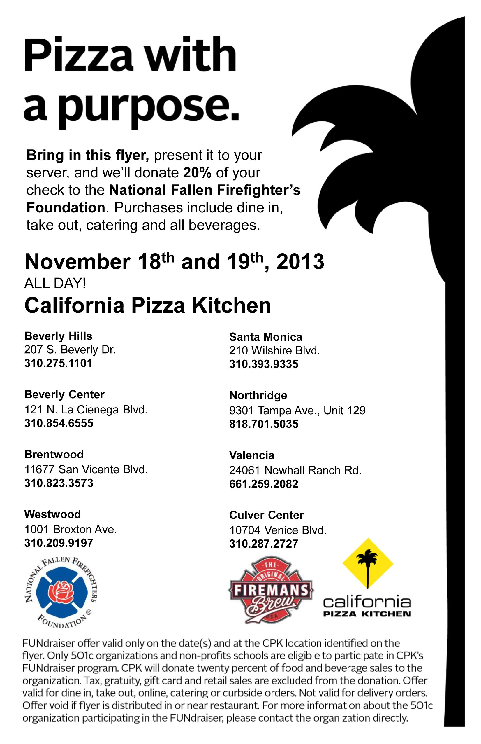 Please support National Fallen Firefighters Foundation November 18 ...
