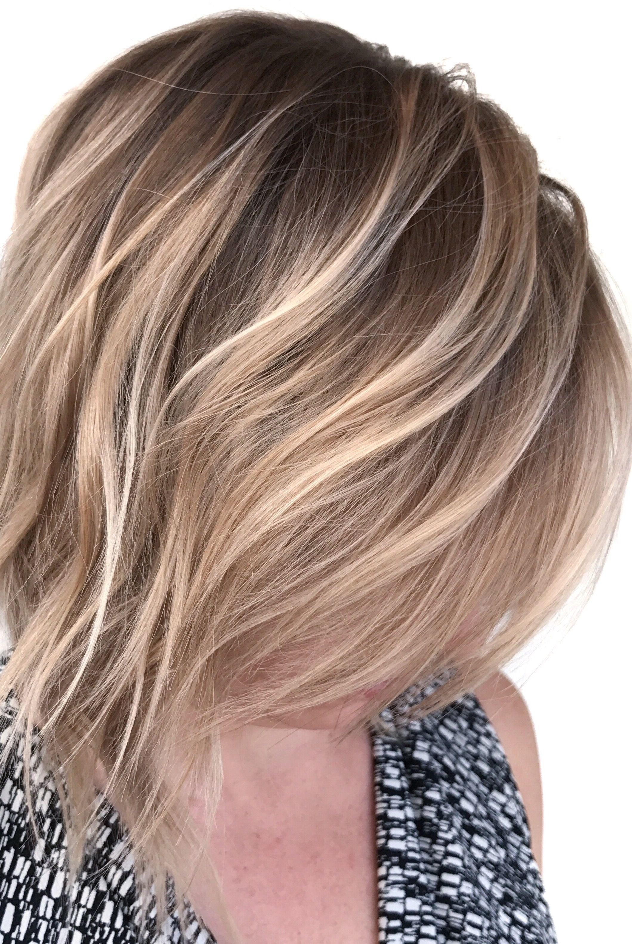 Blonde balayage natural blonde highlights short hair balayage blonde balayage natural blonde highlights short hair balayage contrast hair color urmus Images