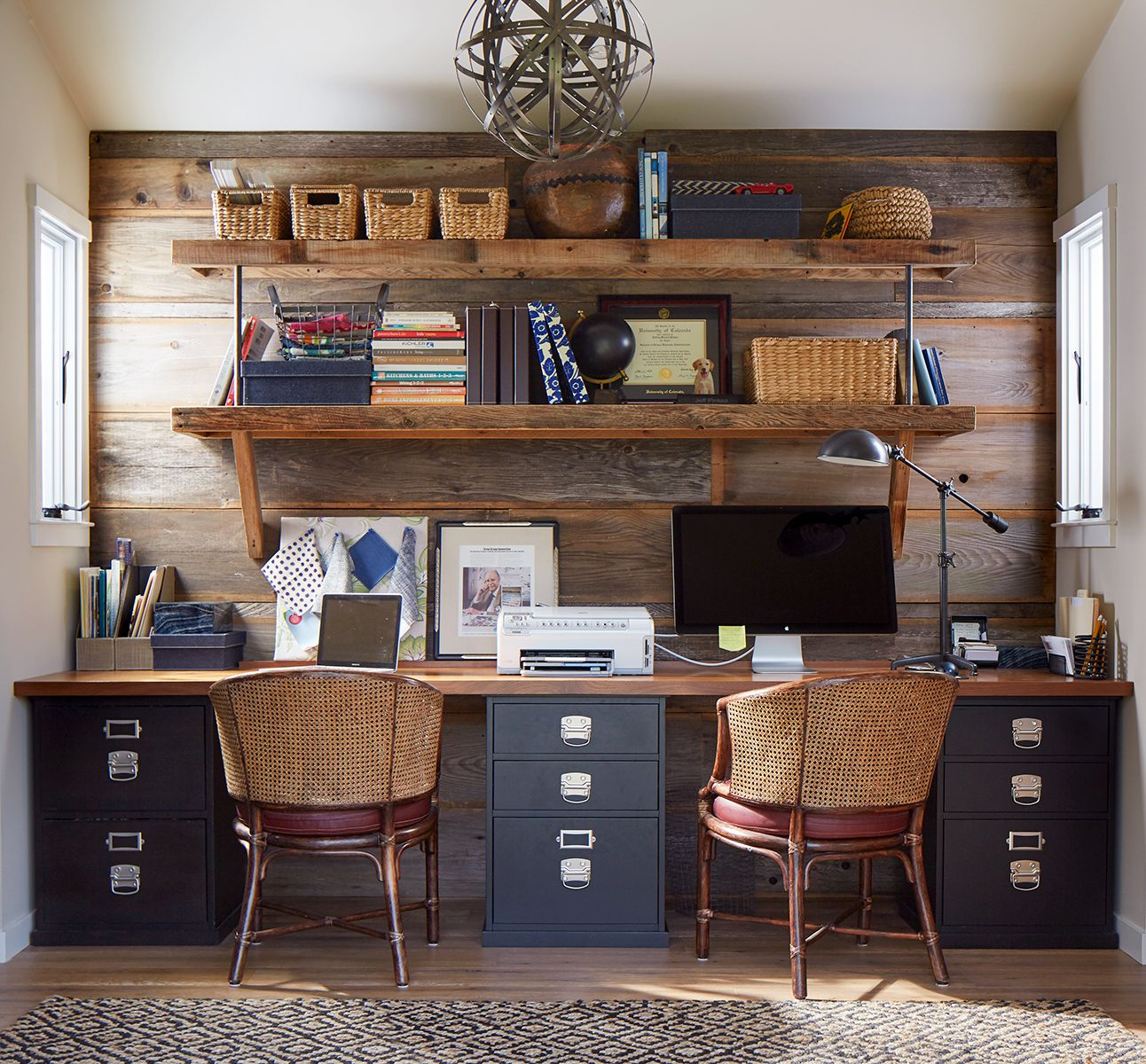 100 Charming Farmhouse Office Decor Ideas For Your Home 100 Charming Farmhouse Decor Ideas For Your Home Office Check Out This Style Home Office Decor With A Farmhouse Office