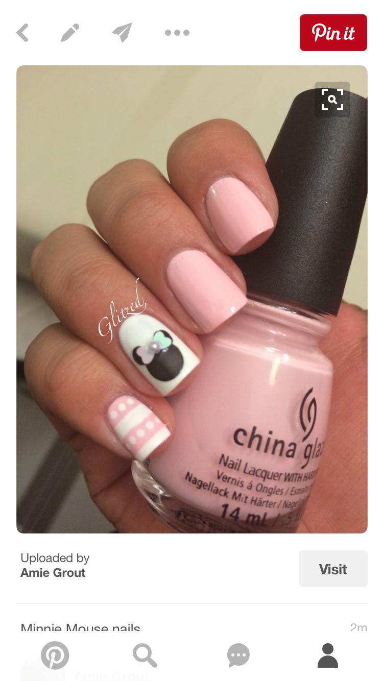 Pin von Lisa Ovitt auf Disney Nails | Pinterest | Nagellack und ...