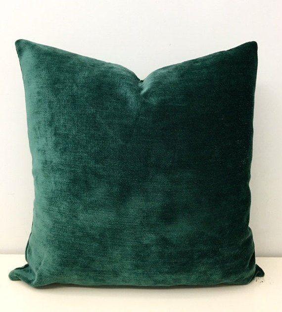 Green Boho Pillow Cover Green Pillow Bohemian Pillow Luxury | Etsy