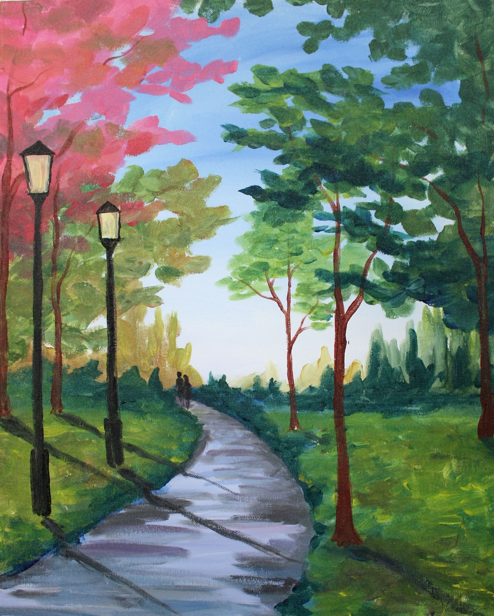 41 Easy Landscapes Ideas Art Painting Painting Art