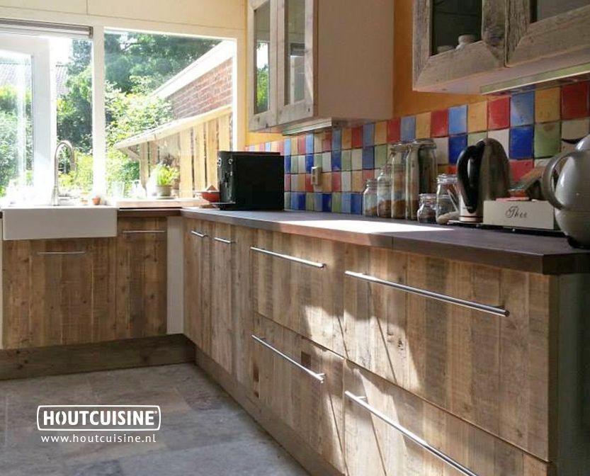 1000+ images about Keuken Steigerhout NIET te druk of te donker on ...