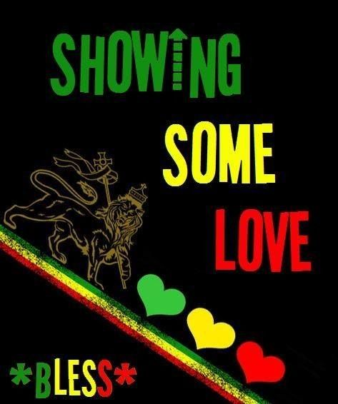 Some Rasta Love Reggae Art Rasta Art