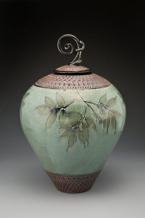 By Suzanne Crane Ceramic Urn Ceramic Artists Pottery Art