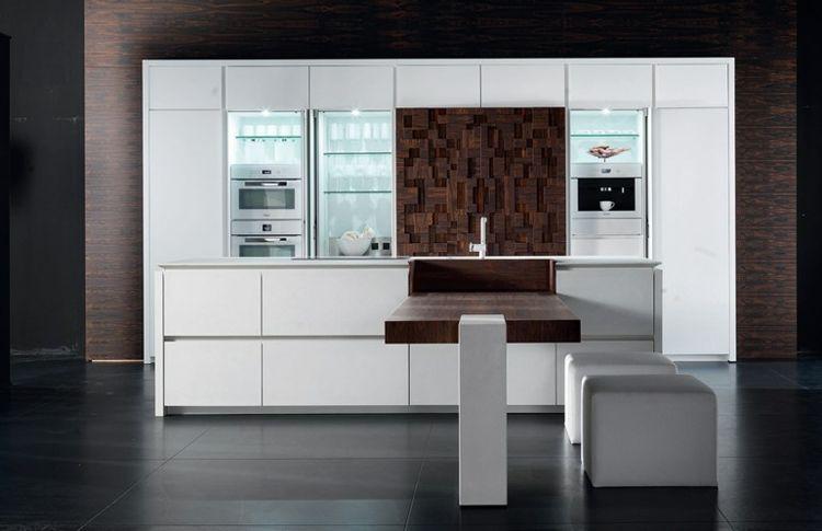 Cuisine Design Italienne Par Toncelli En 40 Photos Top Cuisines Design Meuble Bar Cuisine Et Design Italien