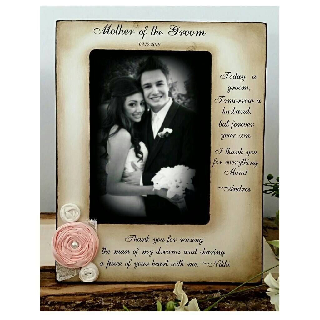 Mother Of The Groom Frame From Bride And Groom Two Messages Picture