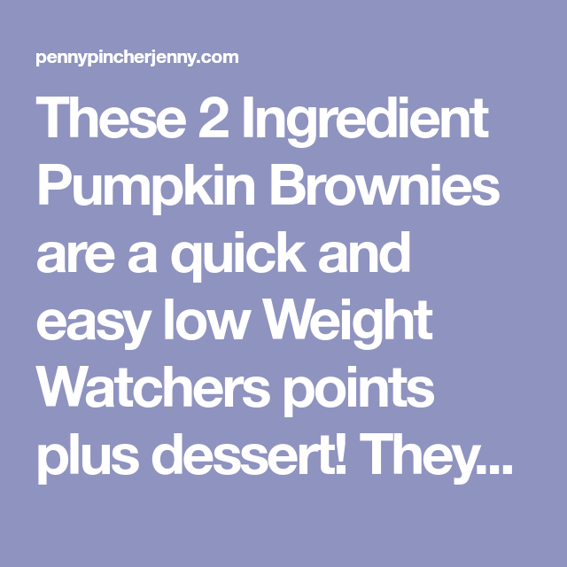 Pin On Weightwatchers