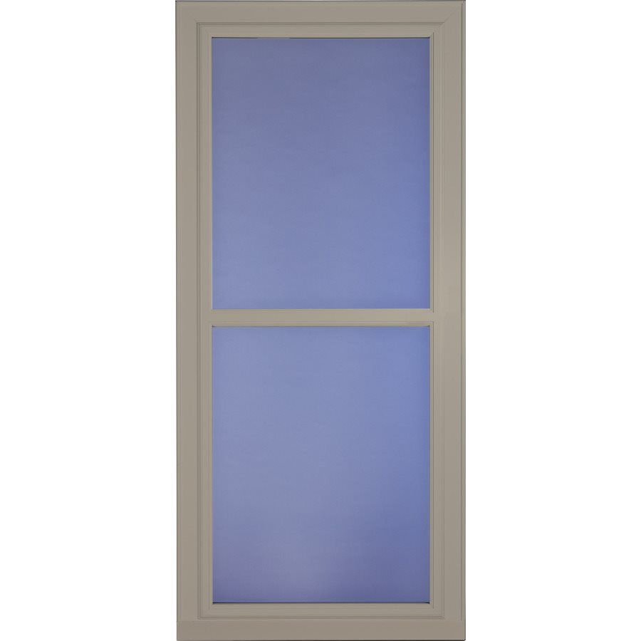 Shop Larson 36 In X 81 In Sandstone Tradewinds Full View Tempered