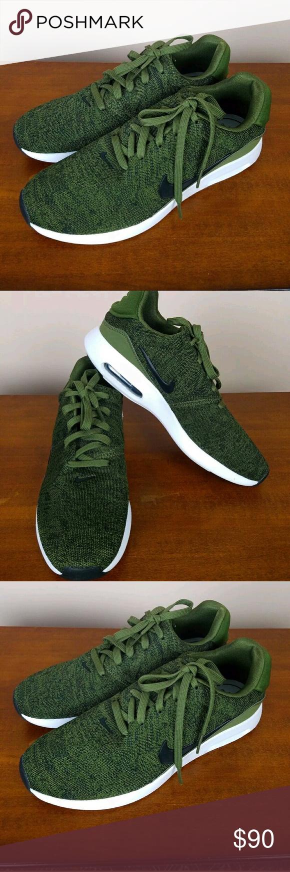 Mens Nike Air Max Modern Flyknit Khaki Green Sz 8 NWT   My