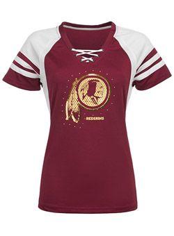 3f163e26 Ladies Redskins Draft Me VII T-Shirt   Redskins   Redskins fans ...