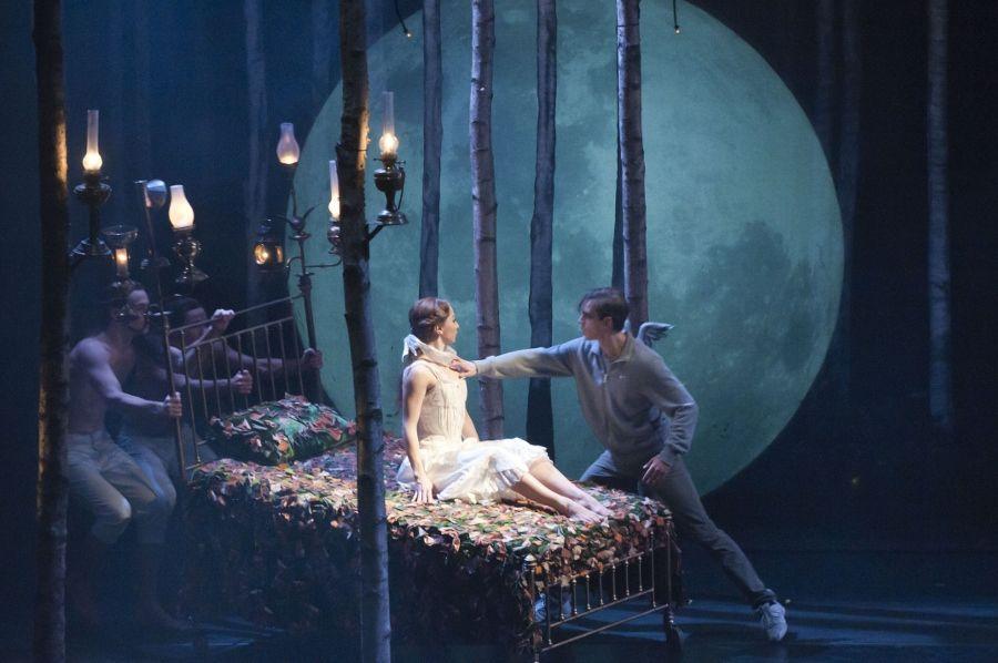 Scene from Matthew Bourne's Sleeping Beauty http:\/\/www.new-adventures.net  Sleeping beauty