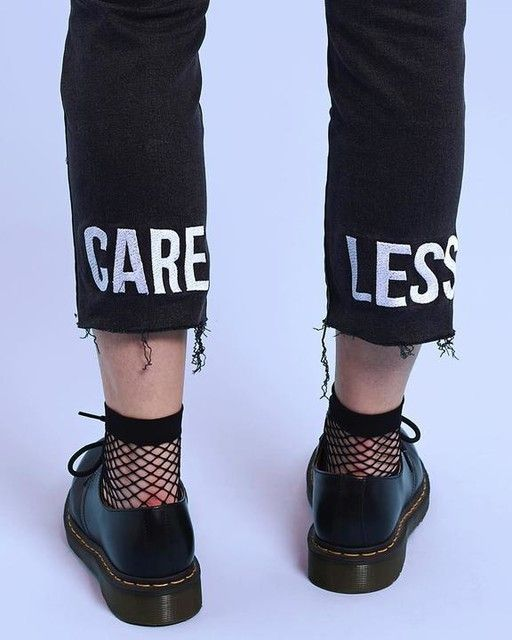 Care Less Jean | DARBY - PUNK DOLL | Grunge jeans, Punk ...