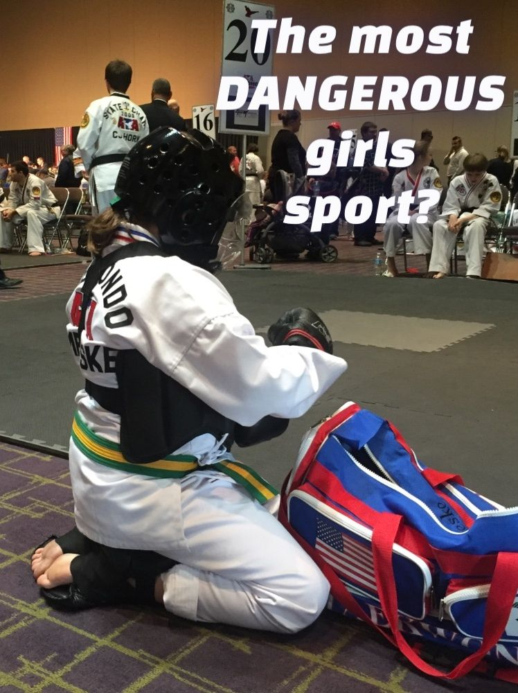 the most dangerous girls sport? Dare to be Dad Sport