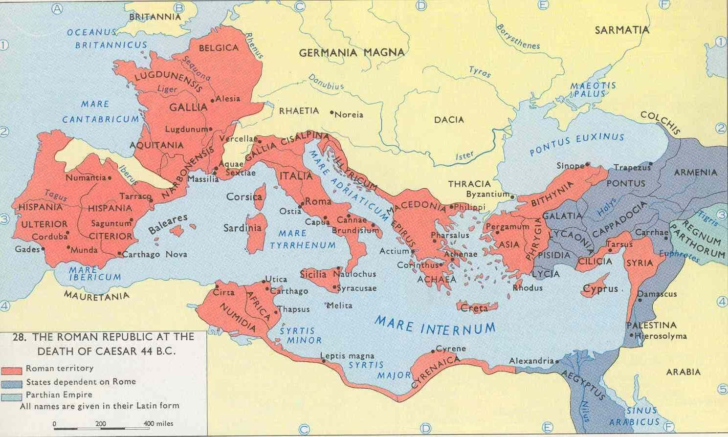an examination of the assassination of julius caesar in 44 bc Law of caesar on municipalities, 44 bc forward before his death julius  caesar was engaged in composing regulations for the distribution of  if the  owner on whom this assessment has been imposed, or his agent, does not pay  this.