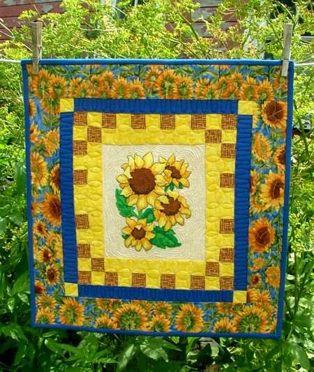 Advanced Embroidery Designs. Free Projects and Ideas. Quilted Wall ...
