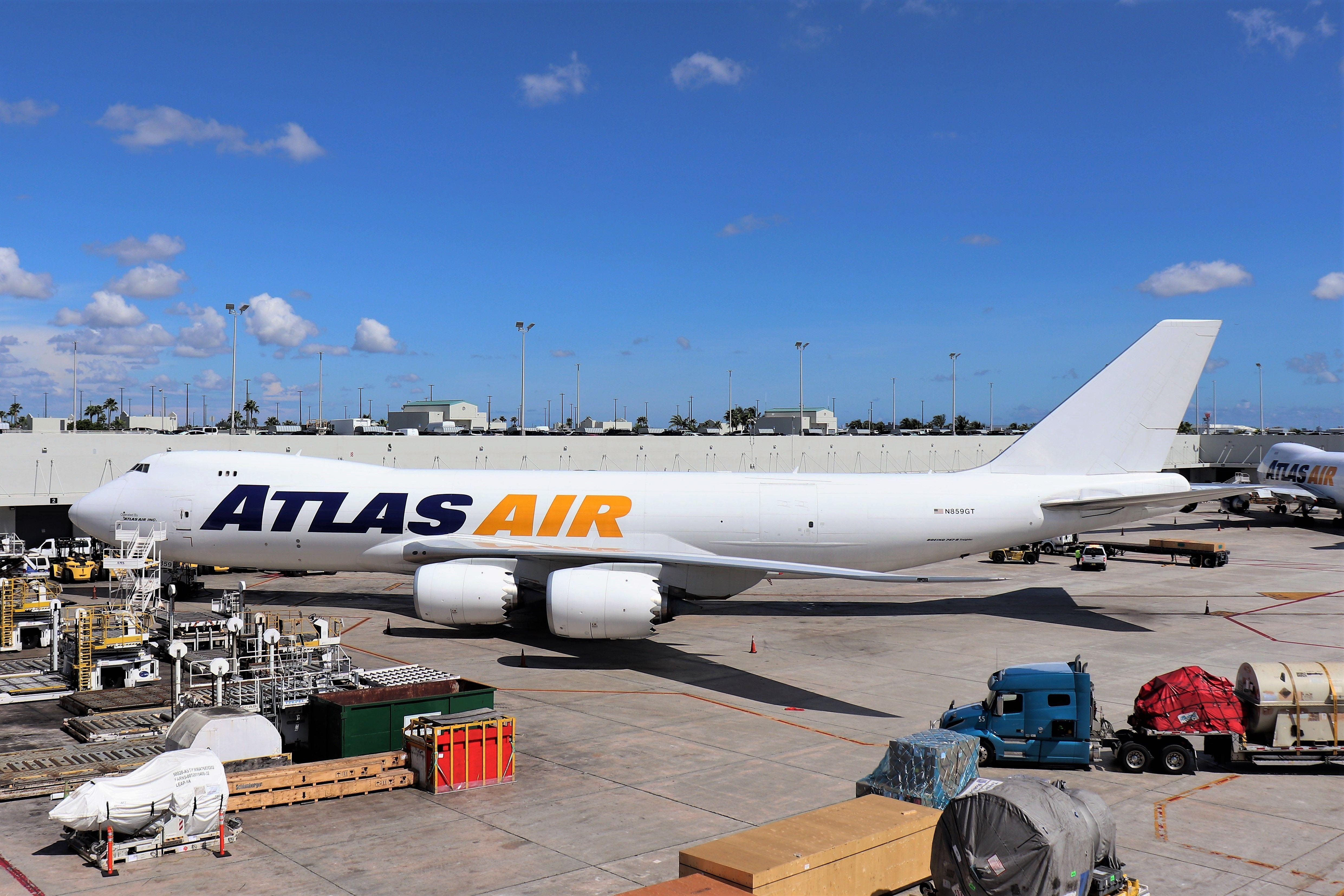Atlas Air 747 in 2020 Atlas air, Cargo airlines, Air