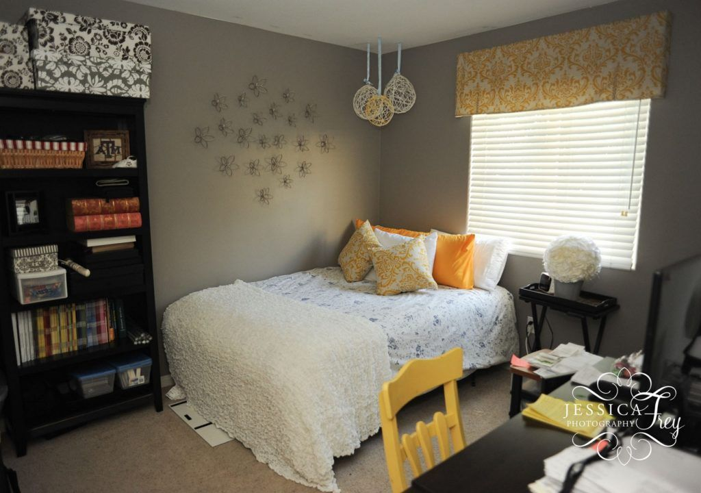 Bedroom White Grey Yellow White Bedroom Pinterest Grey yellow