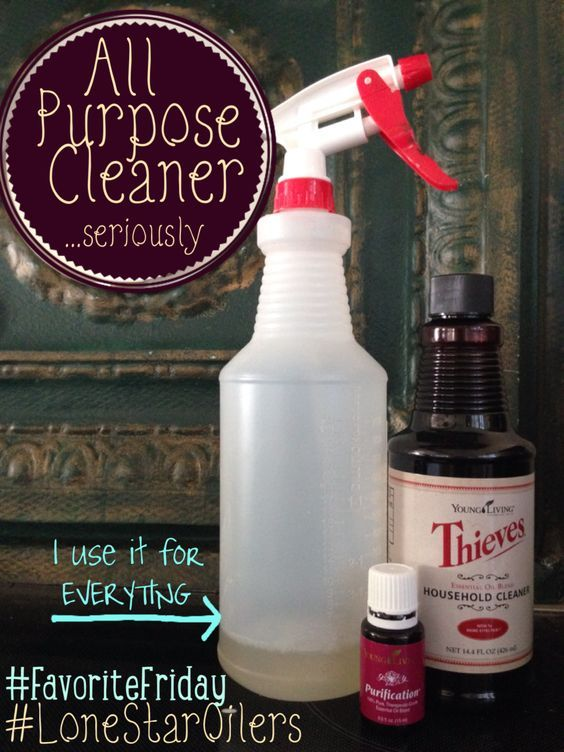 Essential Oil Laminate Floor Cleaner